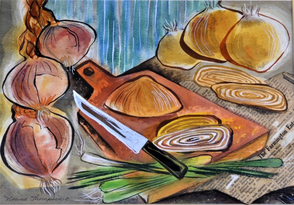 Still-Life with Onions