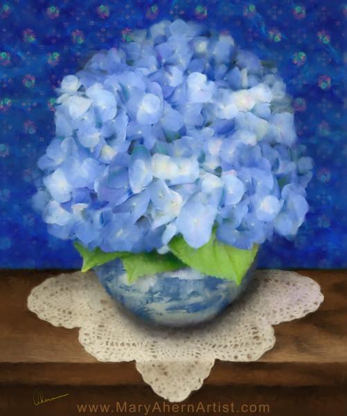 Delft Blue Hydrangea