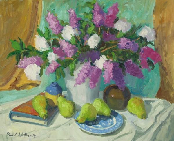 Lilac And Viburnum