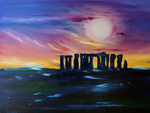 Winter Solstice at the stones