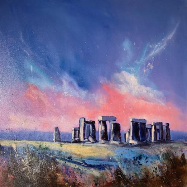Sunrise at the stones