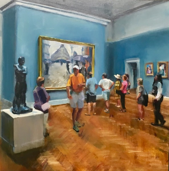 Rodin, Ralph and the Caillebotte