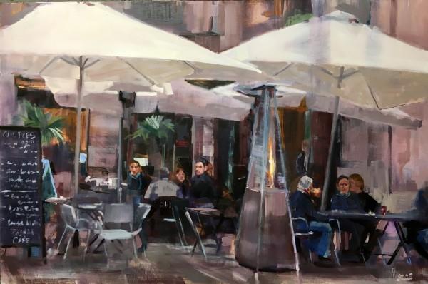 Warmup at the Cafe