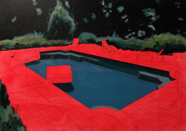 Hot Swimming Pool