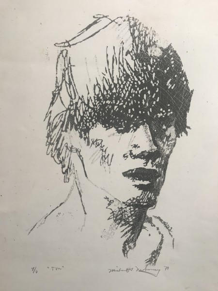 "Newberry, Ton, 1979, lithograph, 20x14"""