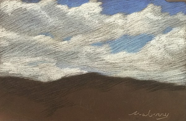 Chalky White Clouds