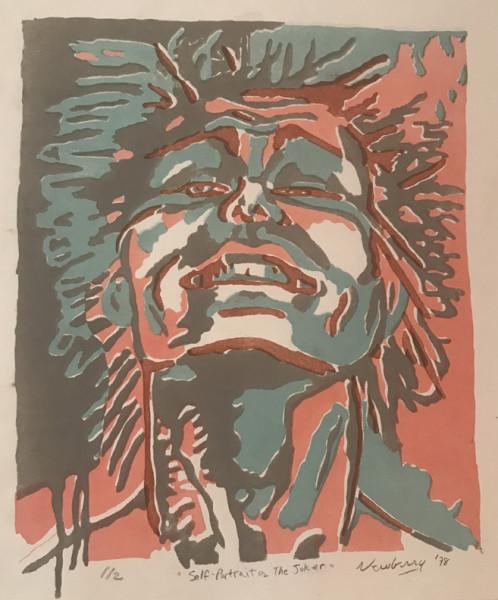 """Newberry, Joker, 1978,  litho 1/2, 14x12"""""""