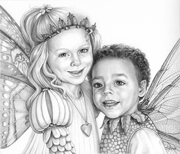 Magical Portrait of Gracie and Noah