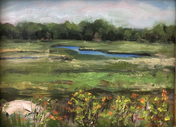 Marsh Awakening (plein air)