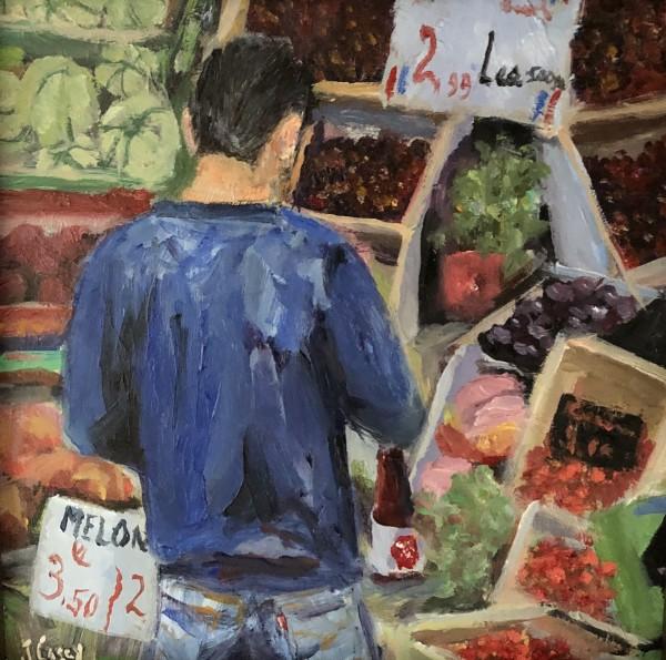 Florentine Market Vendor