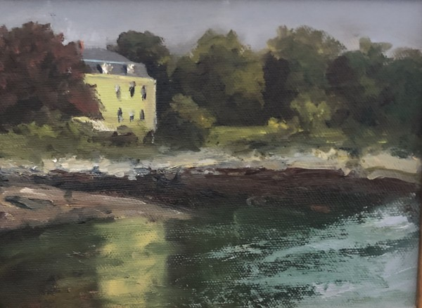 Summer Reflection (plein air)