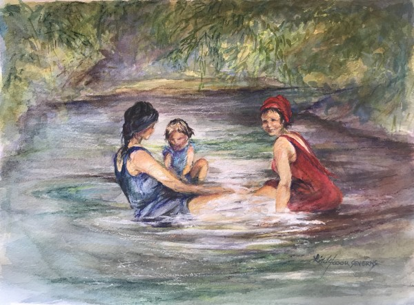 Beauties Bathing, 1927
