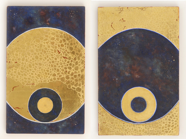Divine Cosmos Diptych SOLD