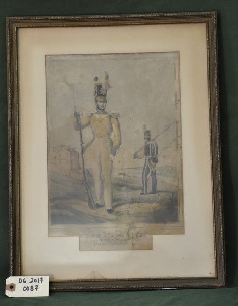 Light Guard of New York, E. Vincent, Commandant