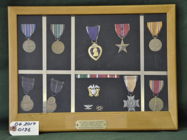 Collection of Medals of Captain Arthur J. Benline, USN (Retired)