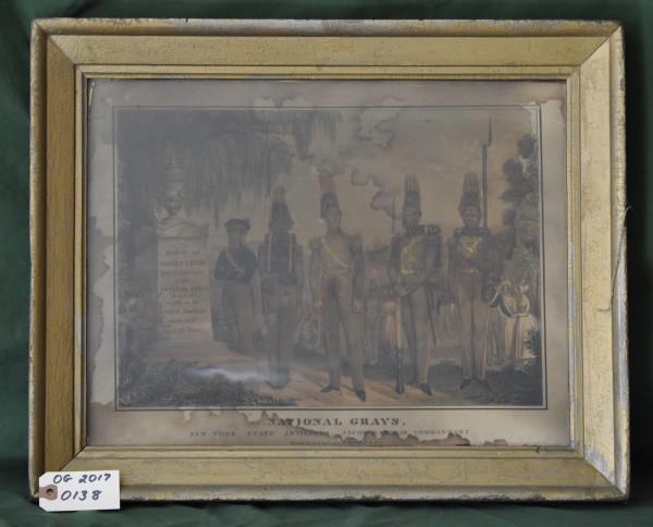 National Grays. New York State Artillery, Jacob Raynor, Commandant