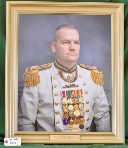 Commandant Colonel Daniel L. Hooker