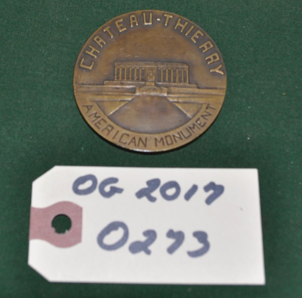 Two Inch Round Medal