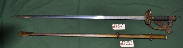36.5 Inch Sword with 31 Inch Scabard