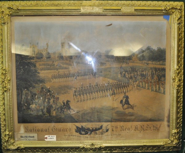 Seventh Regiment on Parade Print
