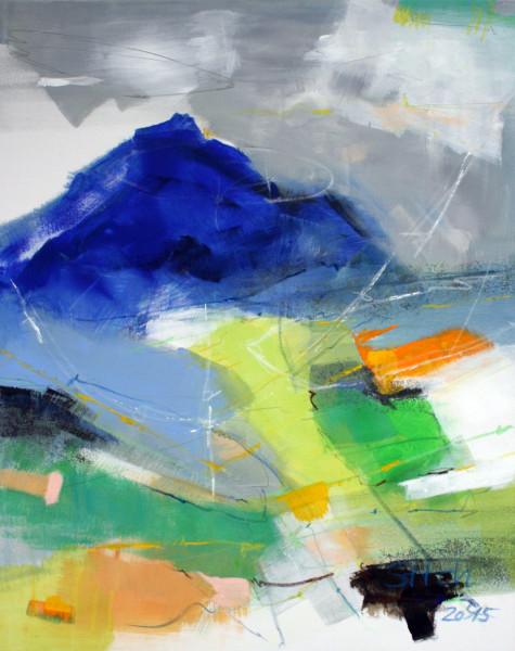blauer Berg JW