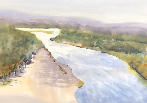 Along the Rio Grande River
