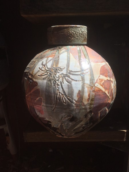 Bird and Horse Jar