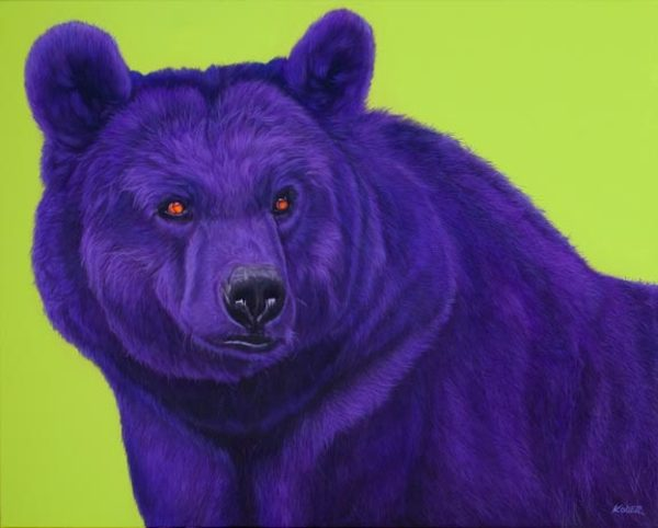 BEAR IN PURPLE, 2007