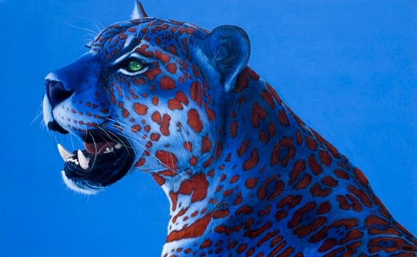 JAGUAR WITH RED SPOTS, 2008