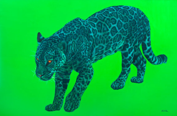 JAGUAR ON GREEN, 2009