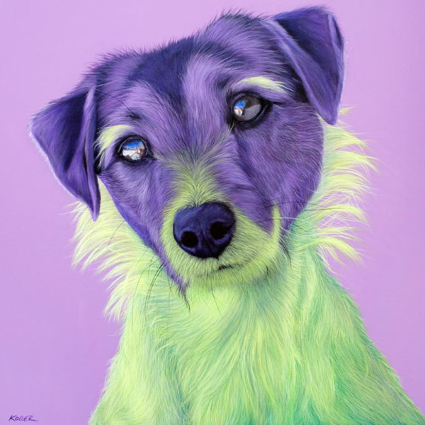 BORRACHO IN GREEN & PURPLE, 2010