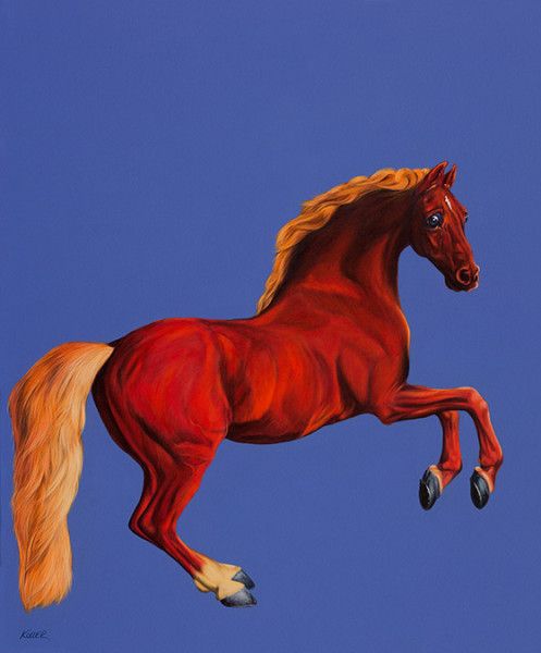 WHISTLEJACKET IN RED, 2013