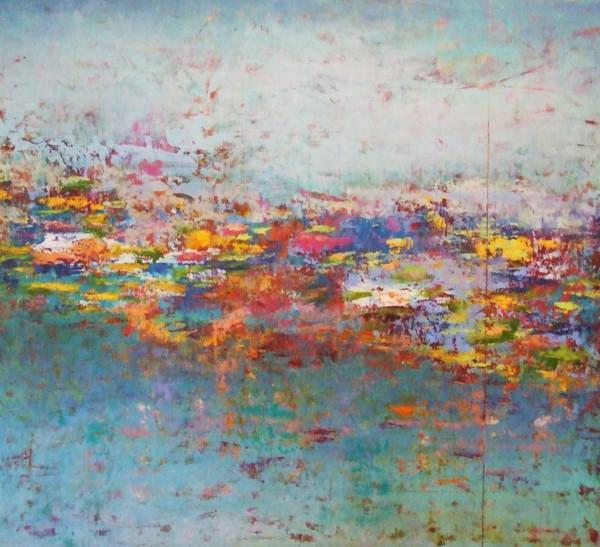 "Monet Reflections, 40x36"""