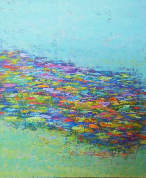 Monet Reflections, 48x40'