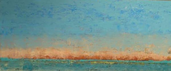 """Summer Horizon, 19.5x44.5"""""""