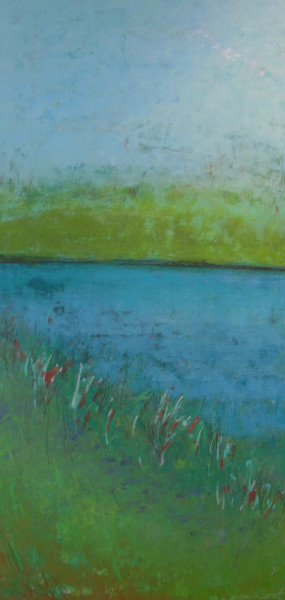 Winded Shore, 48x24""