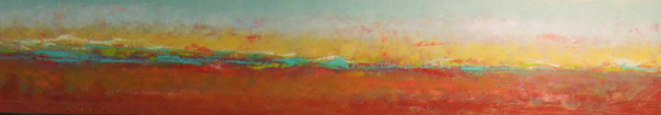 Reflecting on our land, 1, 12x60""