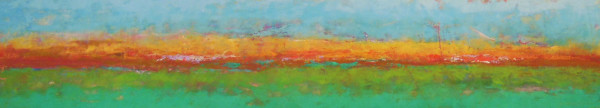 Reflecting on our land 3, 12x60""