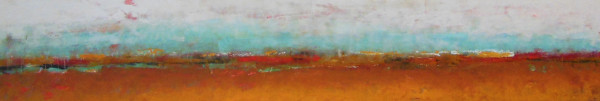 """Reflecting on our land, 4, 12x60"""""""