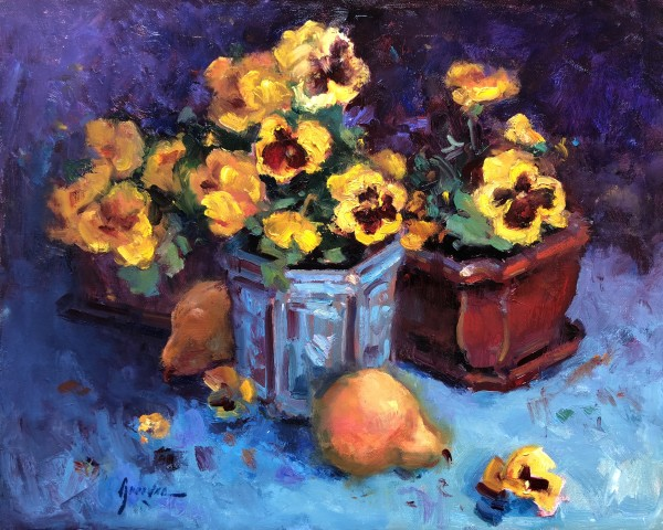 Pansies and Pears