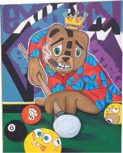 Untitled 10 (Billiards)