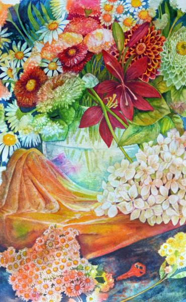 Summer Bouquet Study  I