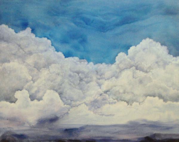 Clouds Canvas