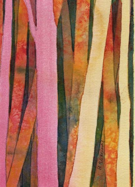 Woods II an original watercolor