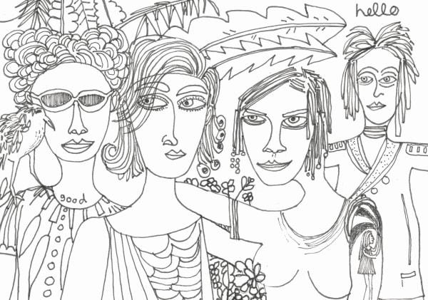 Four Women and a Bird (2019)