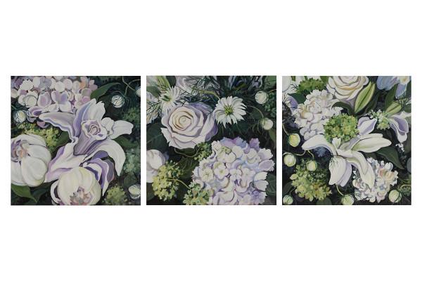 Sam's Flowers Triptych