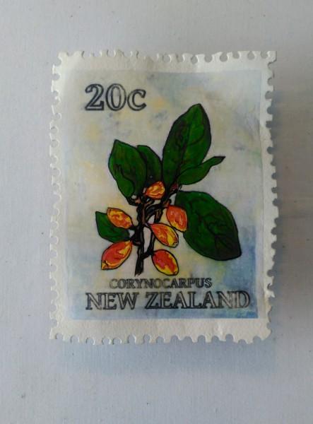 Corynocarpus Stamp 195