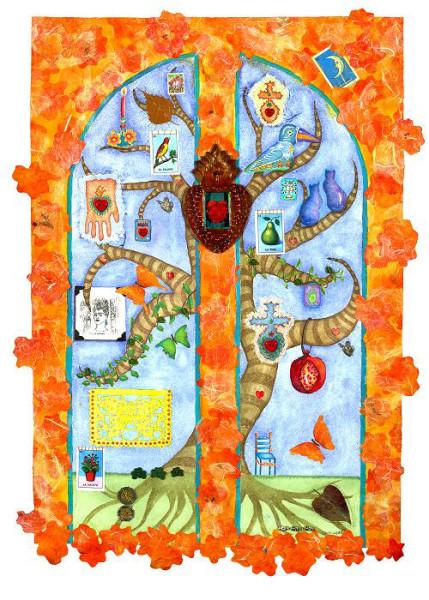 Tree of Life ~ Marigold