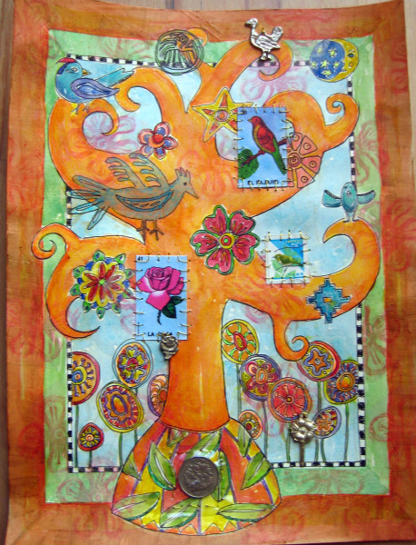 Tree of Life ~ Flowers and Birds