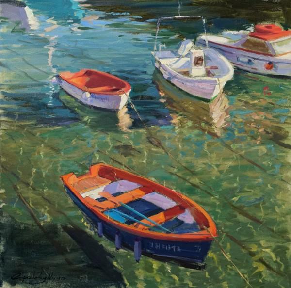 Boats in Castro Urdiales